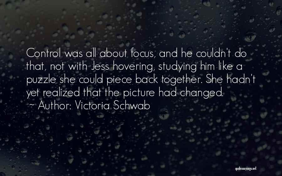 Hovering Quotes By Victoria Schwab