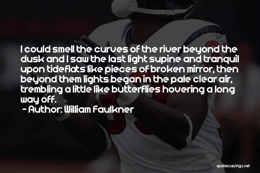 Hovering Quotes By William Faulkner
