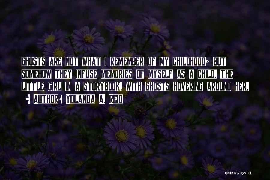Hovering Quotes By Yolanda A. Reid