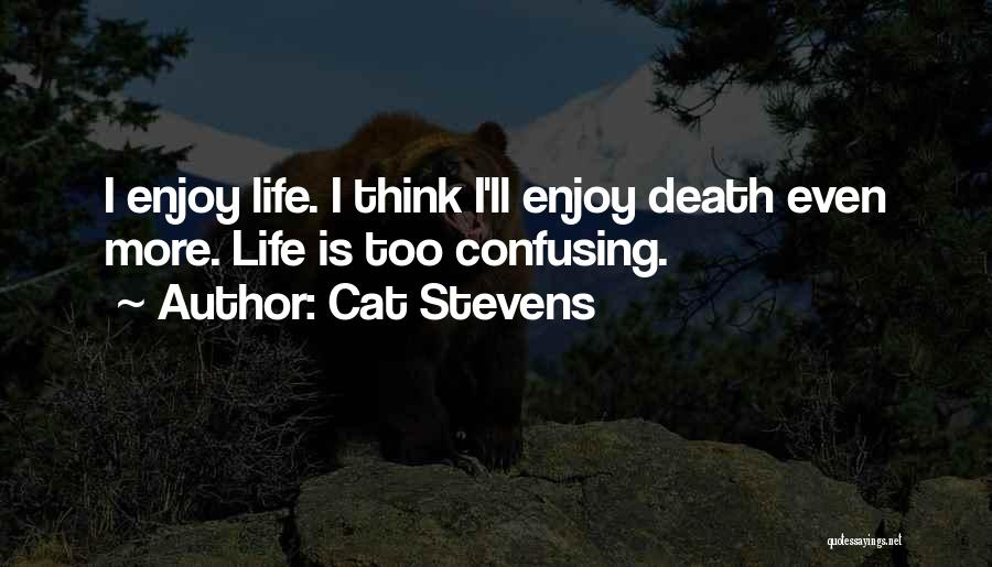 How Confusing Life Can Be Quotes By Cat Stevens