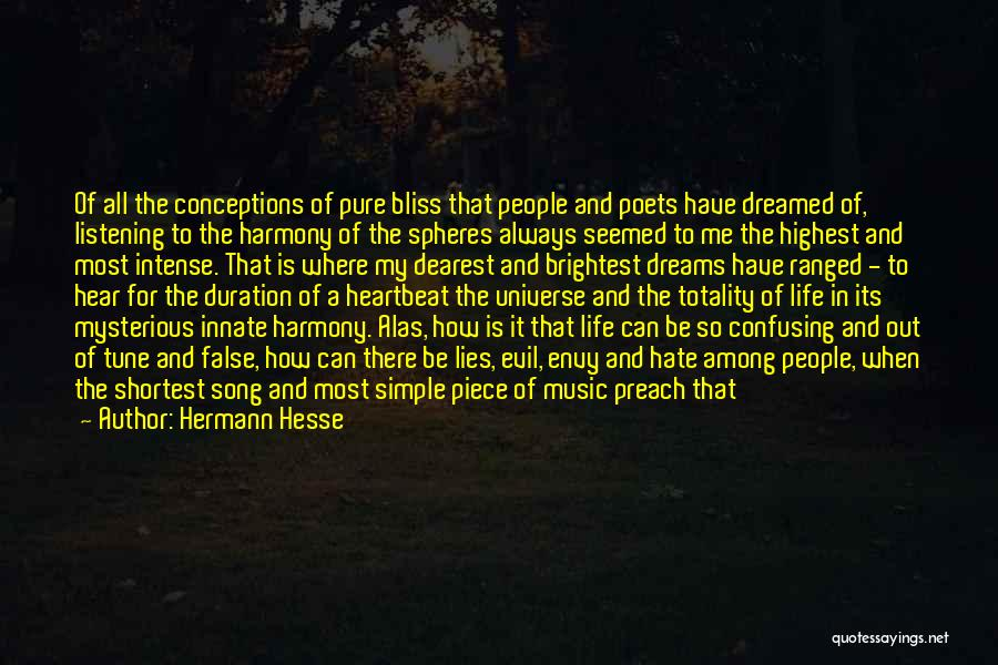How Confusing Life Can Be Quotes By Hermann Hesse