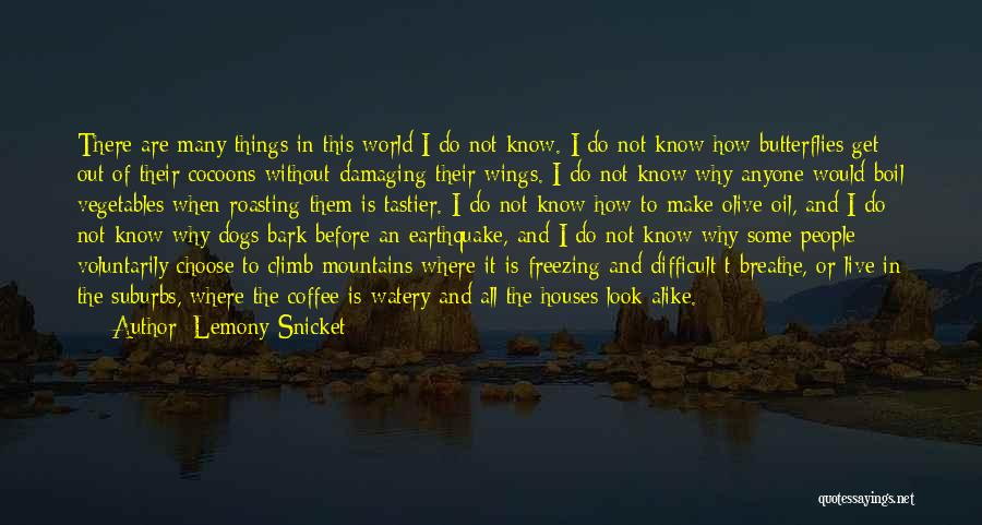 How Do I Breathe Quotes By Lemony Snicket