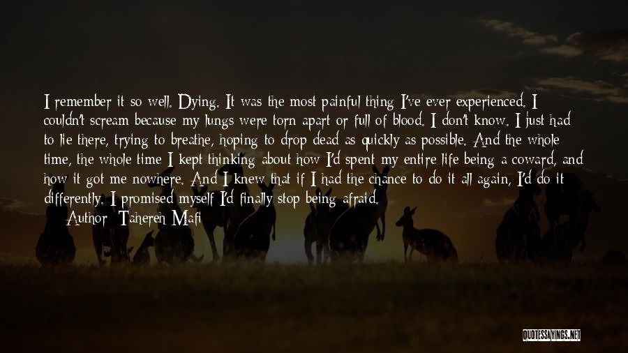 How Do I Breathe Quotes By Tahereh Mafi