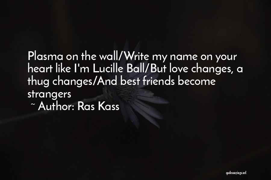 How Friends Become Strangers Quotes By Ras Kass