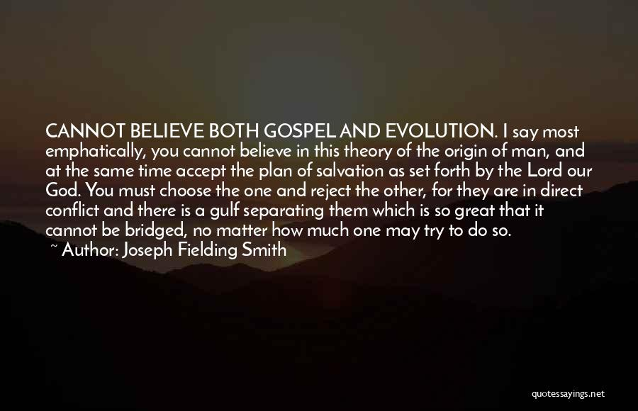 How Great God Is Quotes By Joseph Fielding Smith