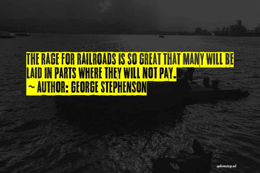How Great Technology Is Quotes By George Stephenson