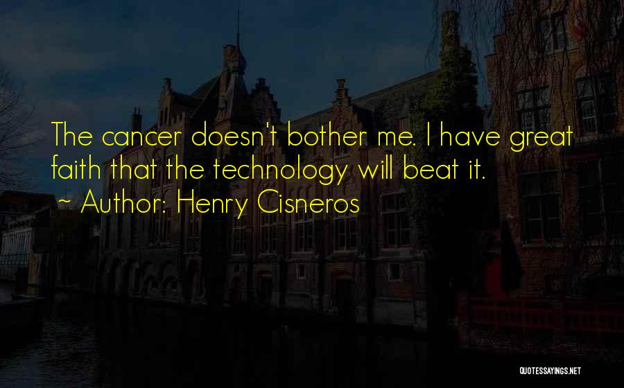 How Great Technology Is Quotes By Henry Cisneros