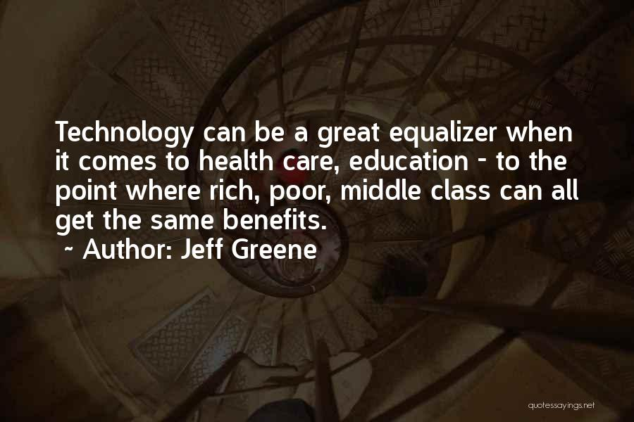 How Great Technology Is Quotes By Jeff Greene