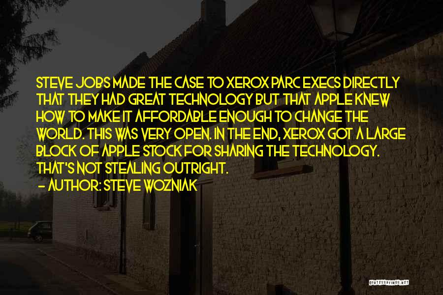 How Great Technology Is Quotes By Steve Wozniak