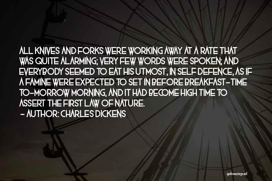 How High Funny Quotes By Charles Dickens