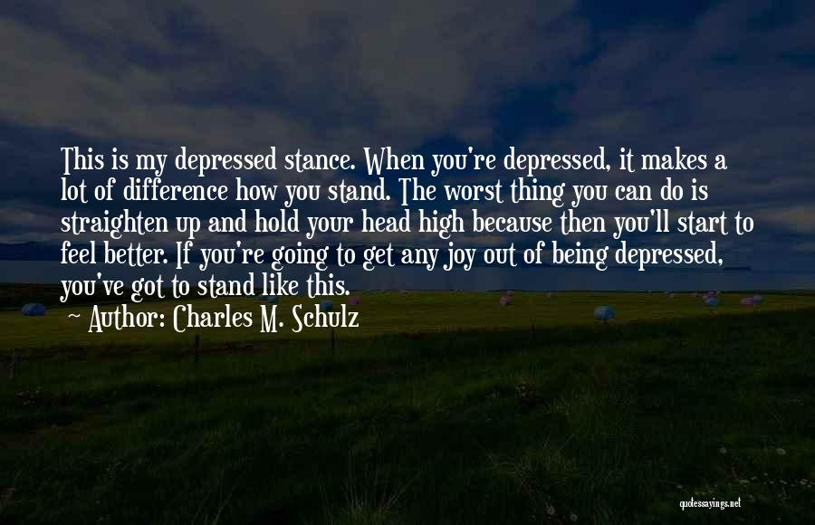 How High Funny Quotes By Charles M. Schulz