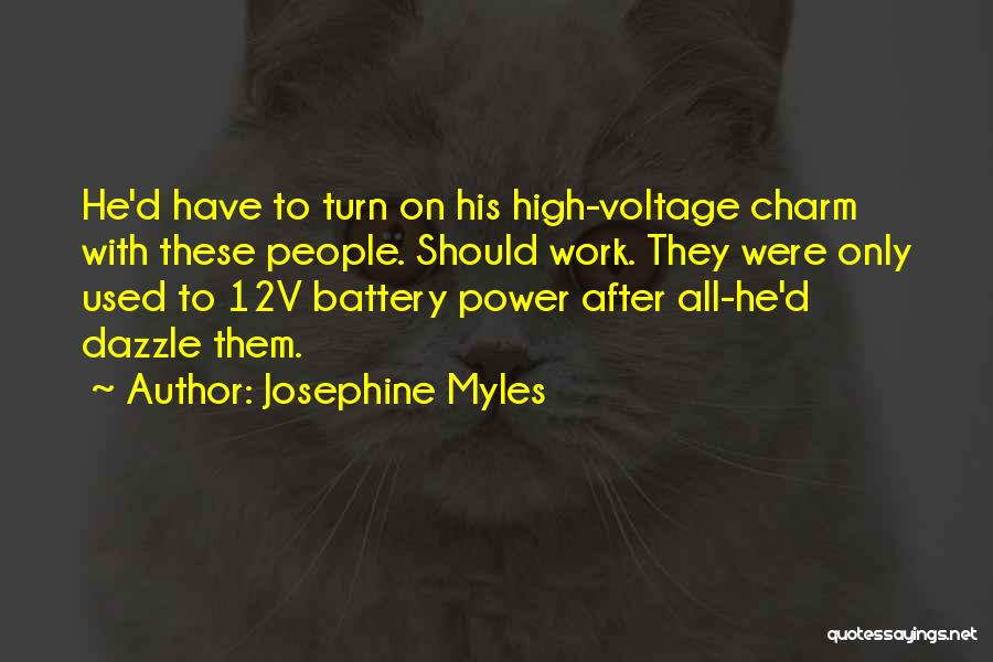 How High Funny Quotes By Josephine Myles