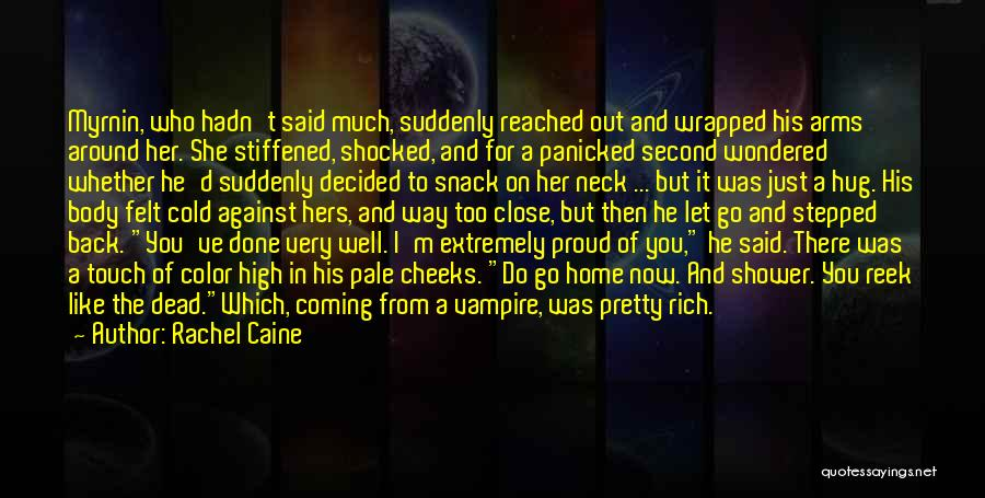 How High Funny Quotes By Rachel Caine