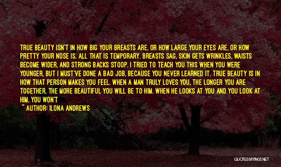 How I Feel When I See You Quotes By Ilona Andrews