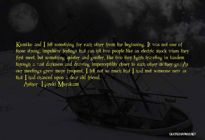 How I Met My Best Friend Quotes By Haruki Murakami