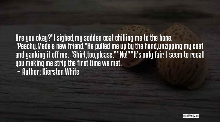 How I Met My Best Friend Quotes By Kiersten White