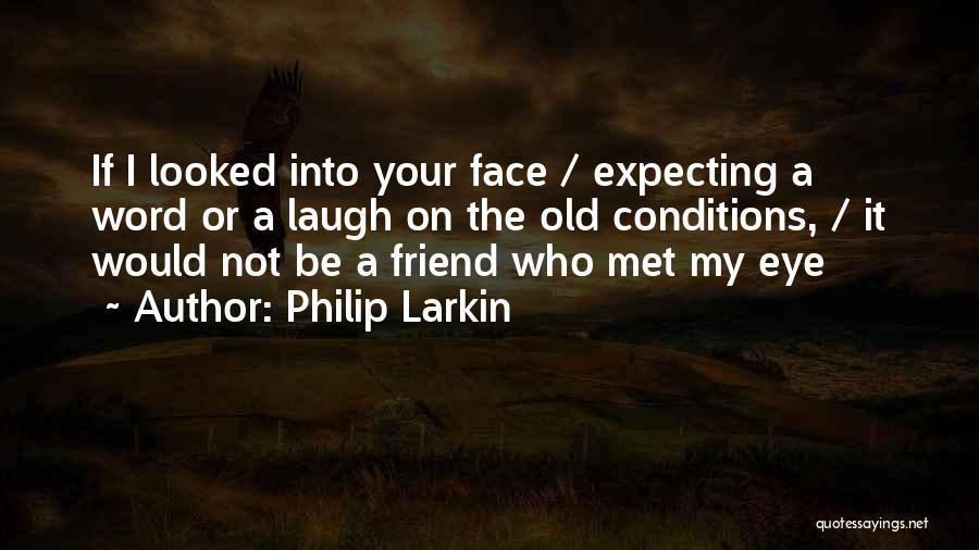 How I Met My Best Friend Quotes By Philip Larkin