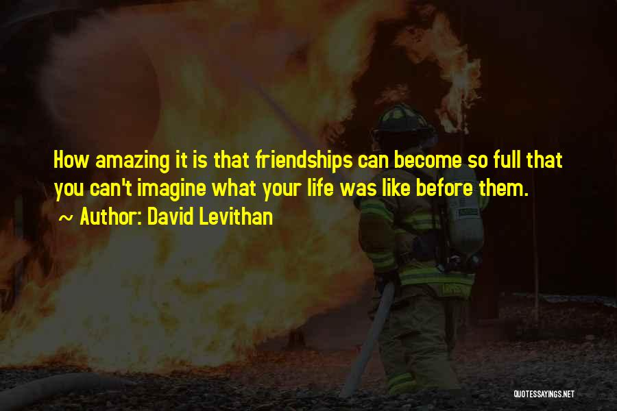 How Life Is Amazing Quotes By David Levithan