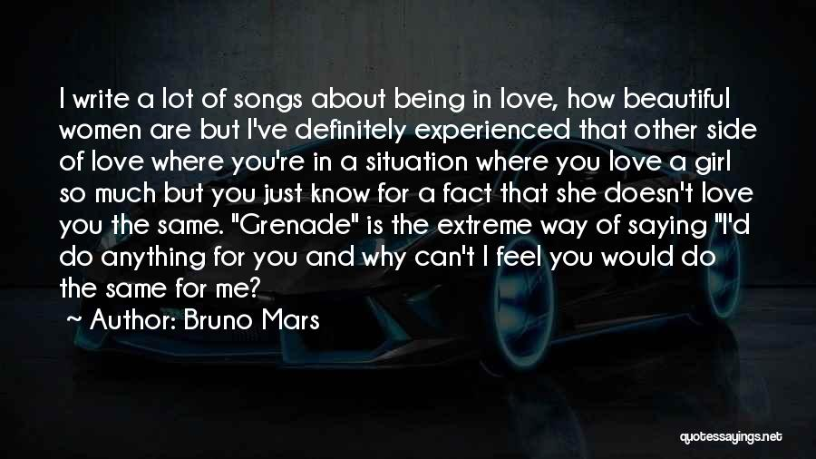 How Love Is Beautiful Quotes By Bruno Mars