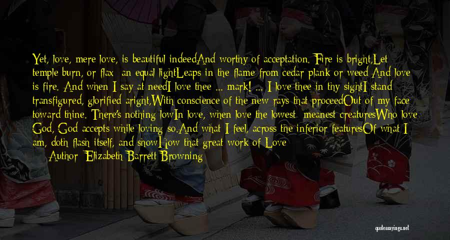 How Love Is Beautiful Quotes By Elizabeth Barrett Browning