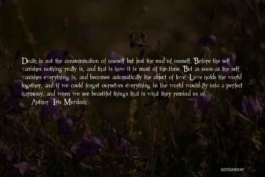How Love Is Beautiful Quotes By Iris Murdoch