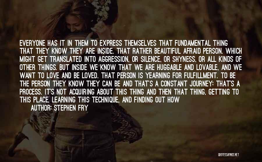 How Love Is Beautiful Quotes By Stephen Fry