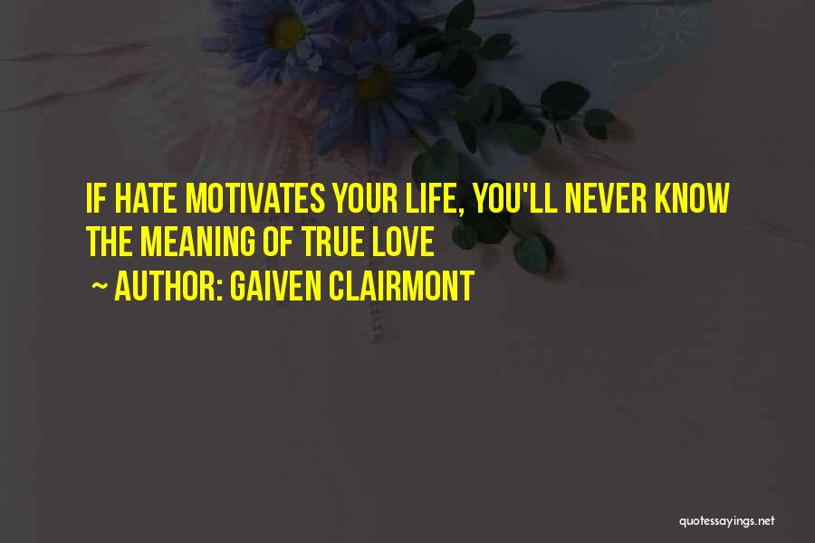 How Much You Hate Someone Quotes By Gaiven Clairmont
