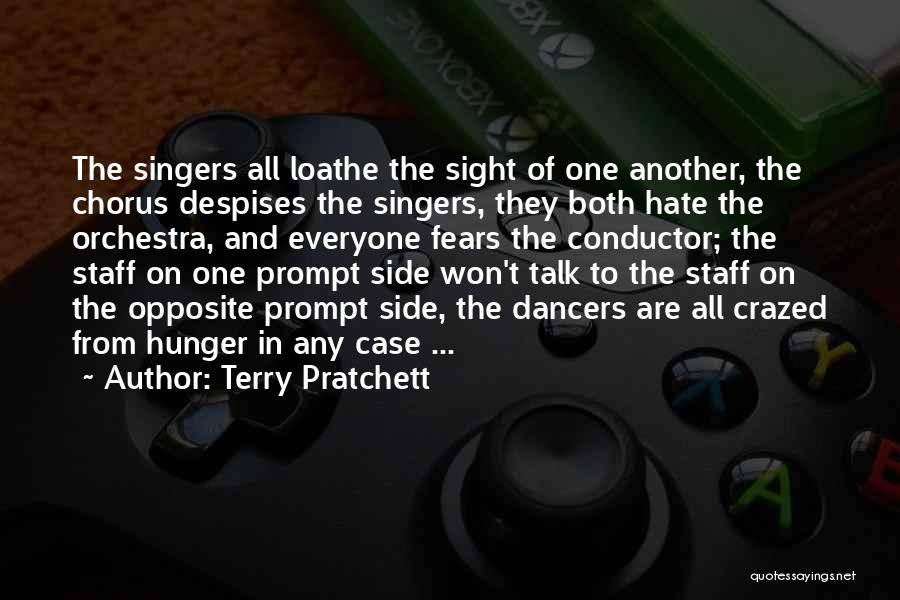 How Much You Hate Someone Quotes By Terry Pratchett