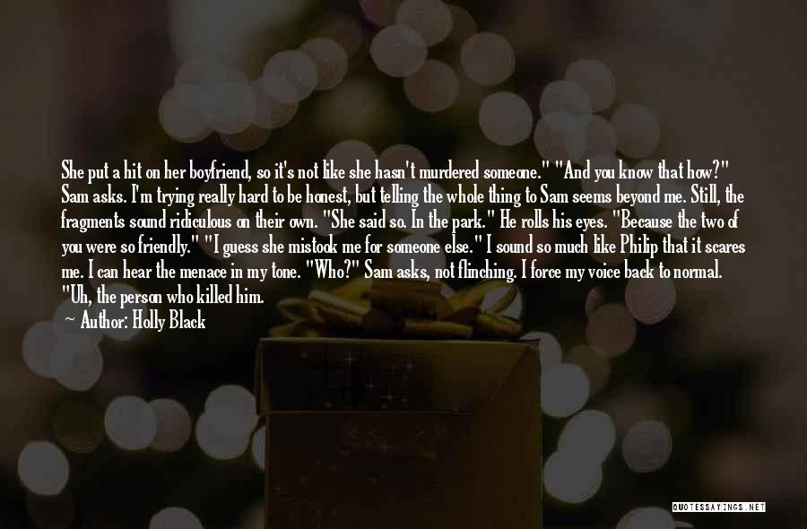 How Much You Like Her Quotes By Holly Black