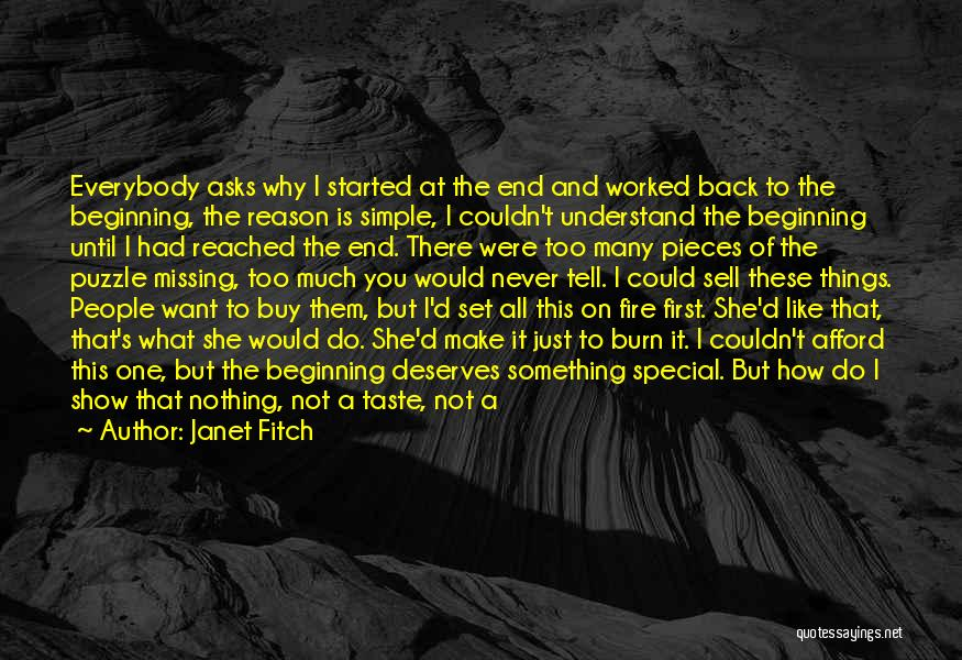 How Much You Like Her Quotes By Janet Fitch