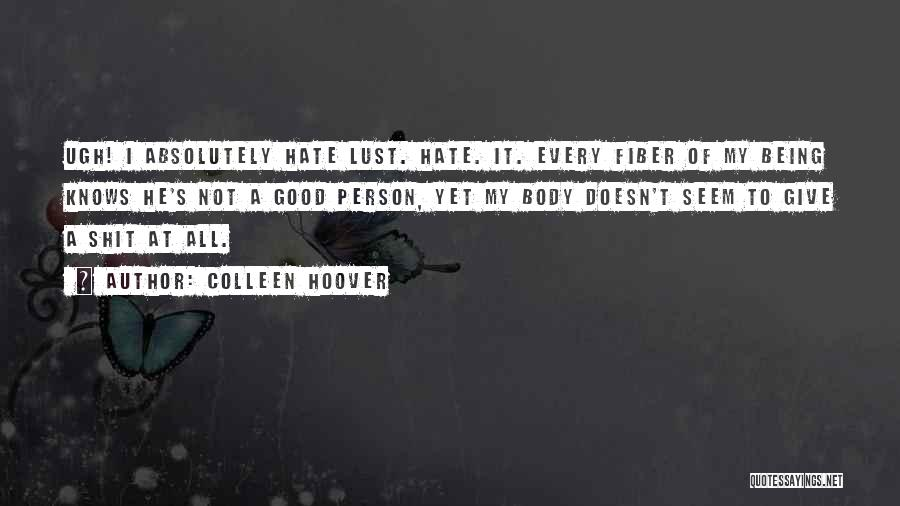 How Not To Give Up Hope Quotes By Colleen Hoover
