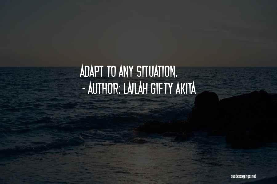 How Not To Give Up Hope Quotes By Lailah Gifty Akita