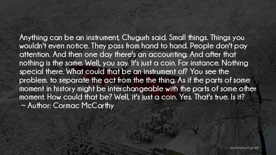 How Special U R Quotes By Cormac McCarthy
