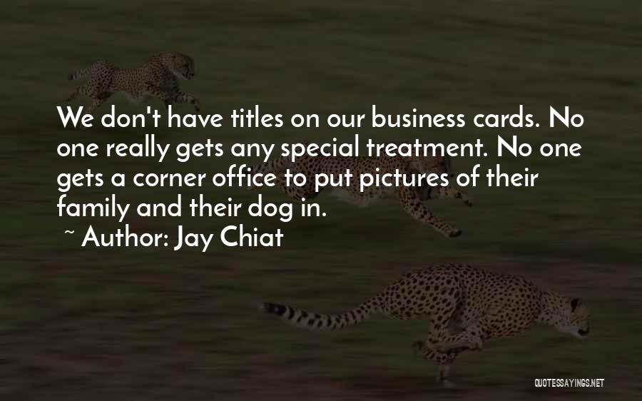 How Special U R Quotes By Jay Chiat