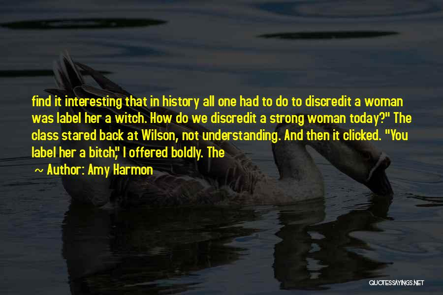How Strong Quotes By Amy Harmon