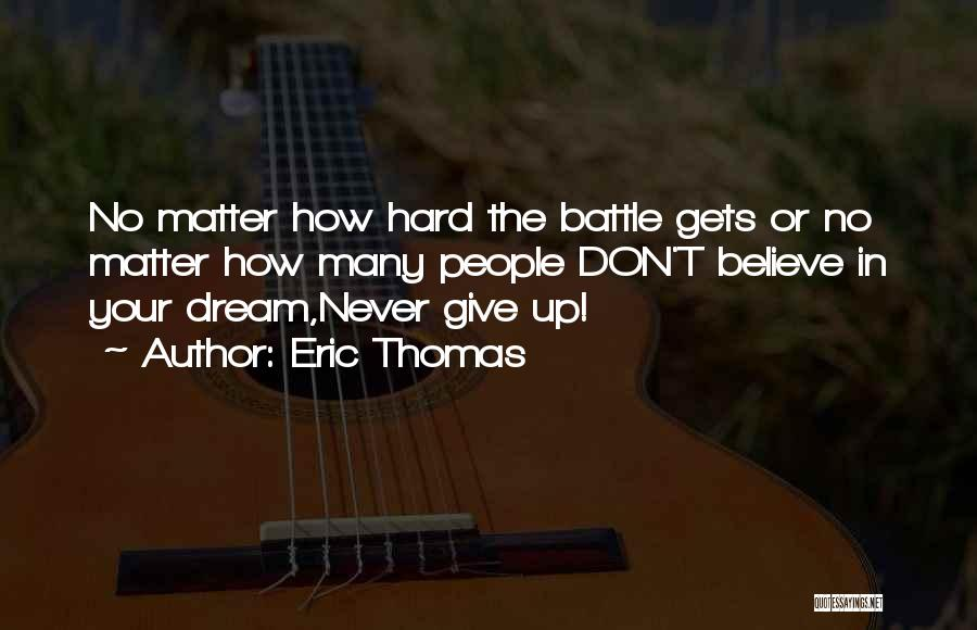 How Strong Quotes By Eric Thomas