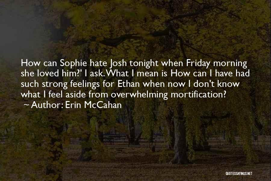 How Strong Quotes By Erin McCahan