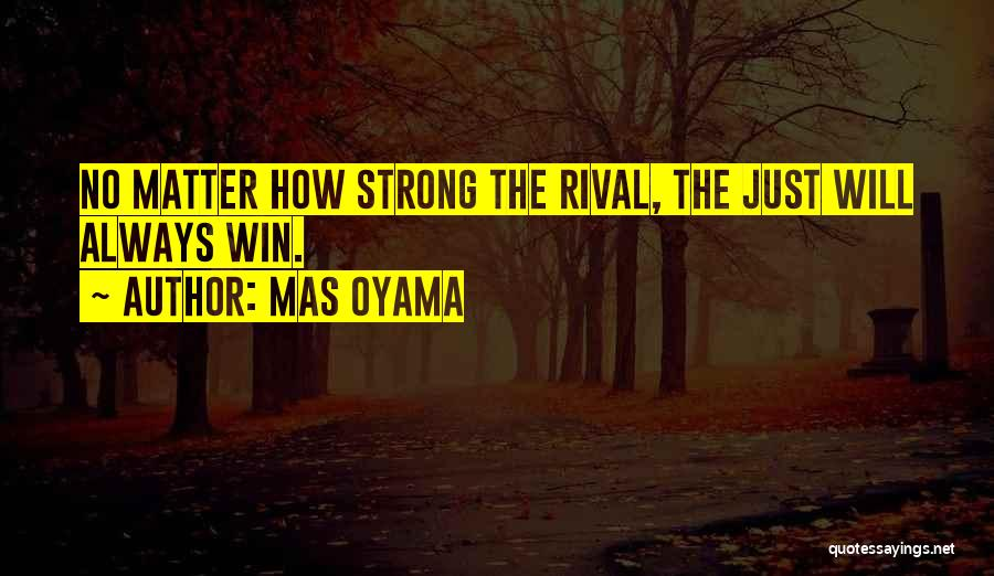 How Strong Quotes By Mas Oyama