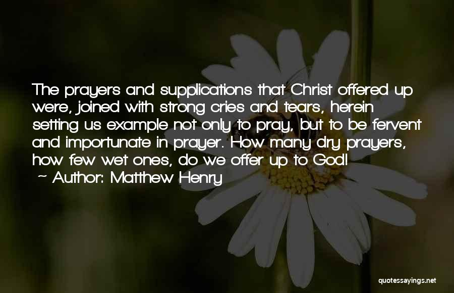 How Strong Quotes By Matthew Henry