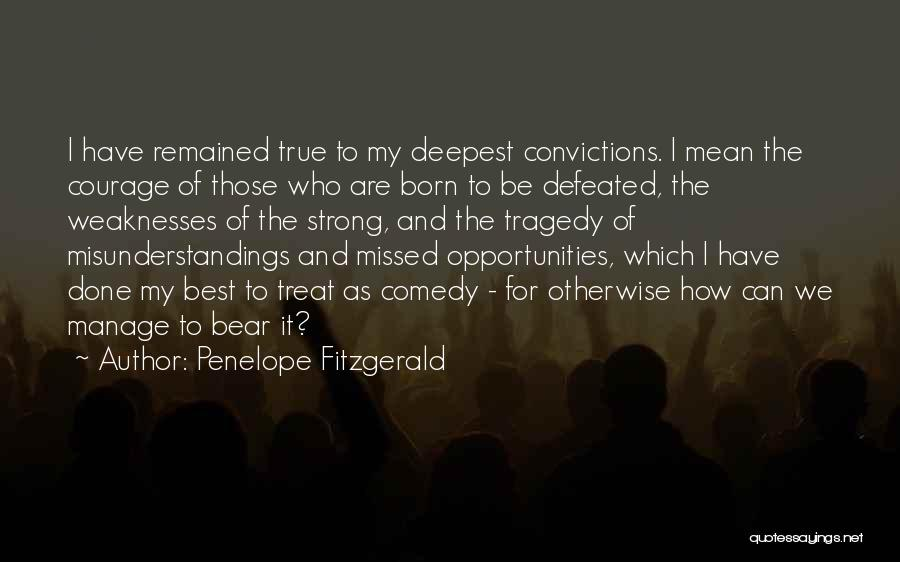 How Strong Quotes By Penelope Fitzgerald
