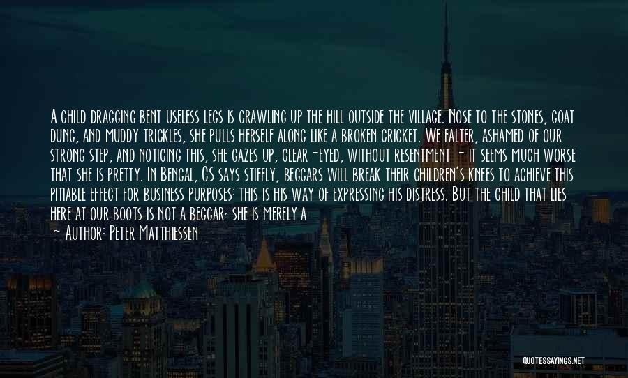 How Strong Quotes By Peter Matthiessen