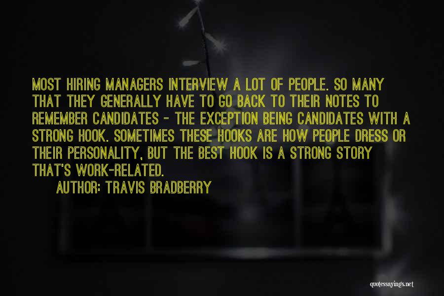 How Strong Quotes By Travis Bradberry