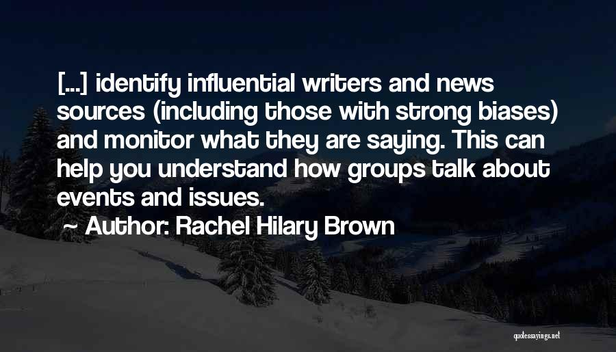 How Strong You Are Quotes By Rachel Hilary Brown