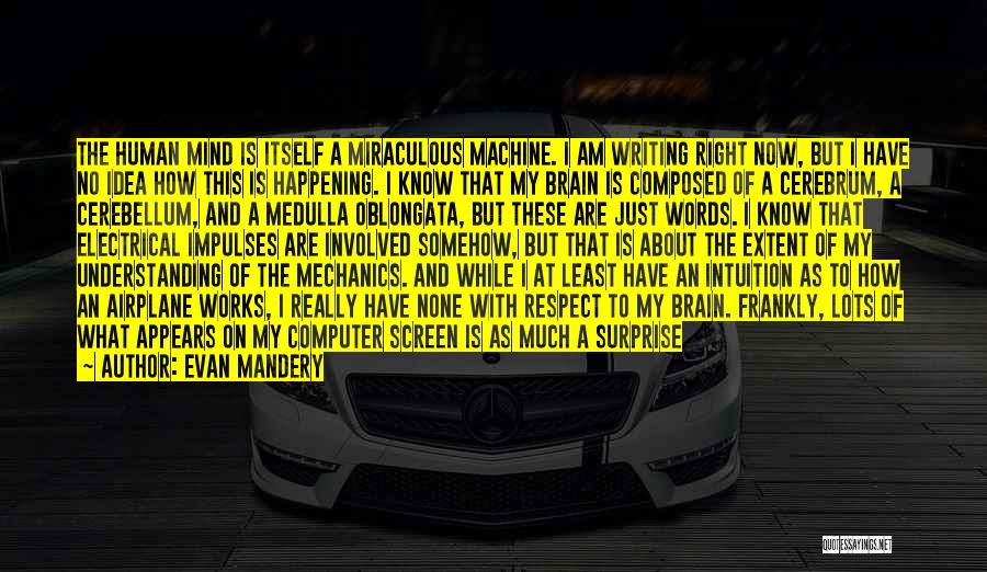 How The Mind Works Quotes By Evan Mandery