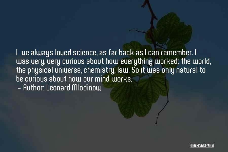 How The Mind Works Quotes By Leonard Mlodinow