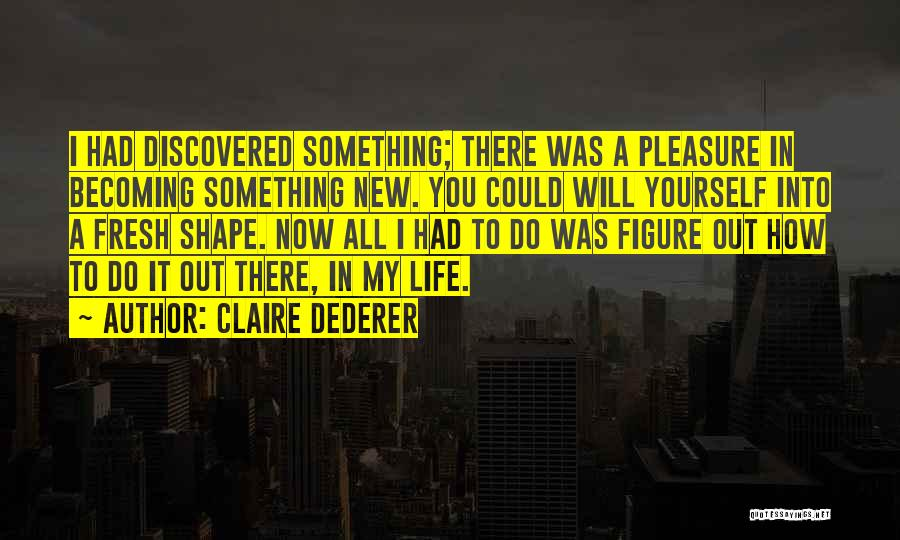 How To Change My Life Quotes By Claire Dederer