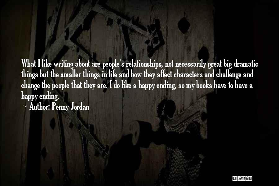 How To Change My Life Quotes By Penny Jordan