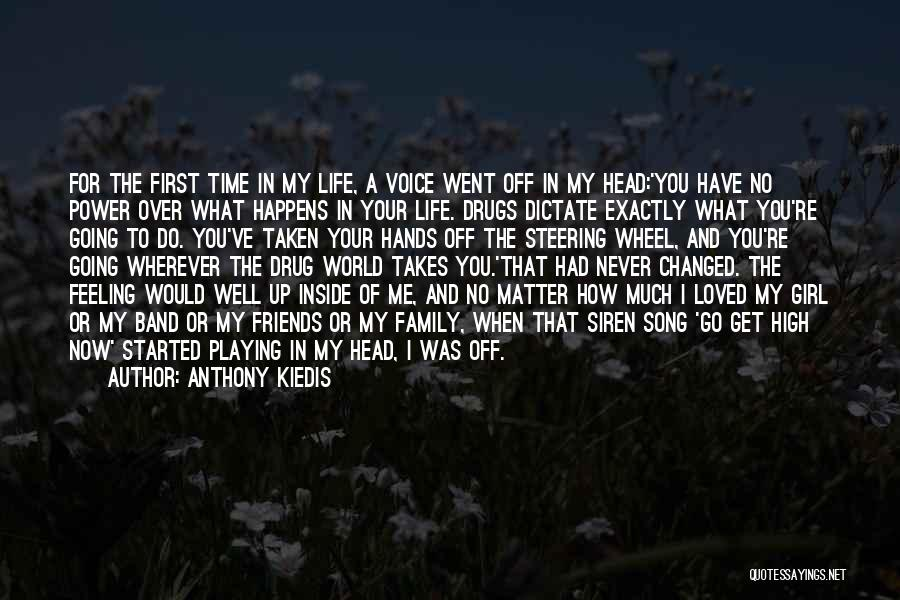 How To Get Over A Girl Quotes By Anthony Kiedis