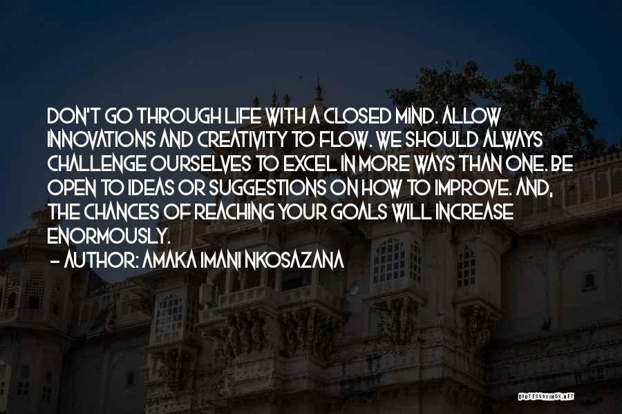 How To Live Quotes By Amaka Imani Nkosazana