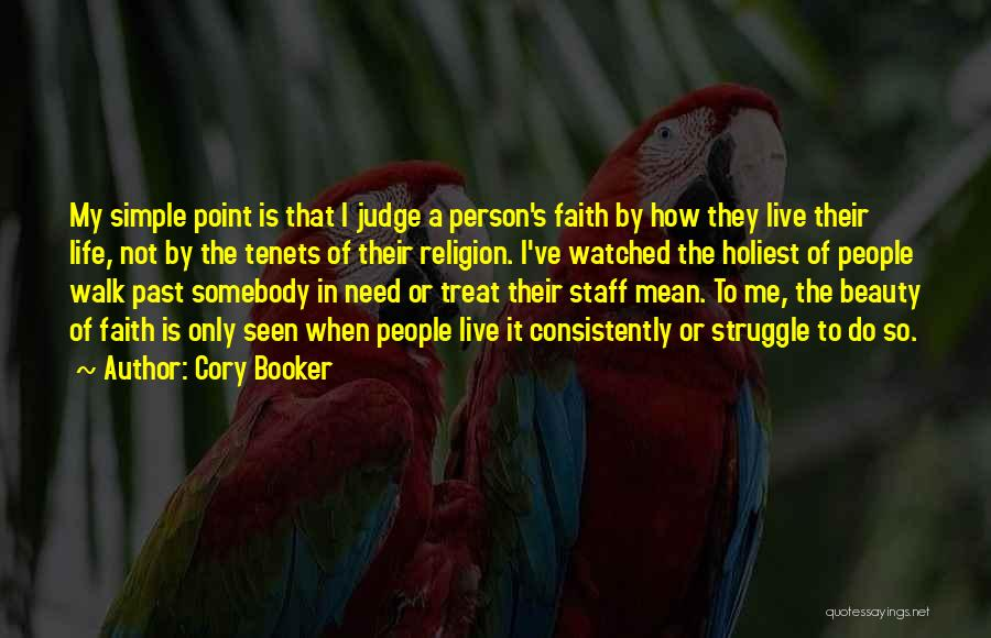 How To Live Quotes By Cory Booker